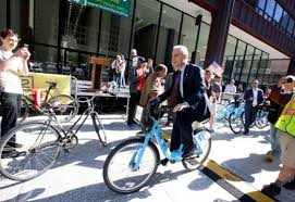 Mayor on Bike